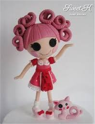 lalaloopsy cake topper lalaloopsy cake topper step by step tutorial by laylah22