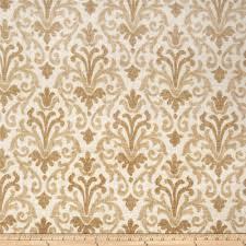 gold fabric gold screen printed linen fabric com