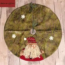 large artificial cloth craft christmas tree skirt 60cm 3d