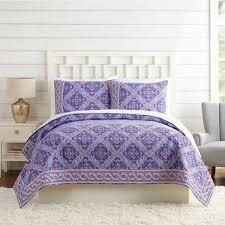 lilac tapestry quilt full queen vera bradley