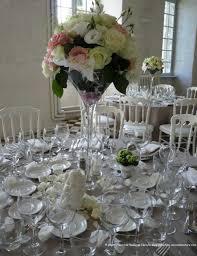 decoration florale mariage décoration pour la table des invités décoration florale