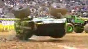 monster truck crashes video monster truck crash compilation video dailymotion