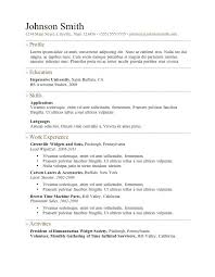 resume template pdf free resume format it professional professional resume samples