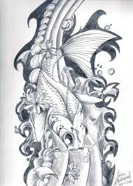 koi fish tattoo design by lostxinxstereo on deviantart