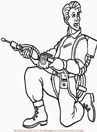 coloring pages ghostbusters 523099