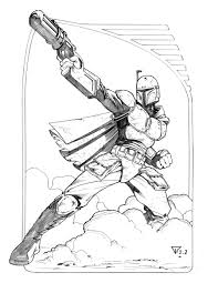 mandalorian coloring pages download and print for free
