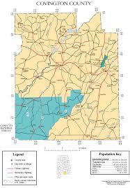 Alabama Maps Maps Of Covington County