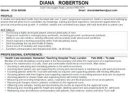 Executive Assistant Job Description Resume by Care Assistant Cv Sample Health Care Assistant Cv Sample Personal