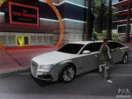 Lamborghini Veneno Limo - audi a8 limousine for gta san andreas