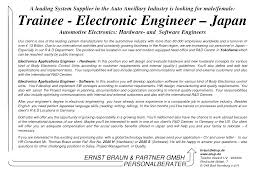 Electronic Engineering Resume Sample by Cover Letter Hardware Engineer