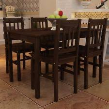 dining table counter small dining wood rustic ebay