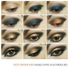 Spider Eyes Makeup Halloween by Spider Web Make Up Look Halloween 2016 Ale Corina Art