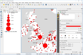 Proportional Symbol Map Creating A Proportional Symbol Map In Qgis 2 18 U2013 Learn Gis