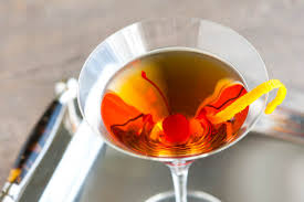 martini manhattan bourbon manhattan cocktail recipe