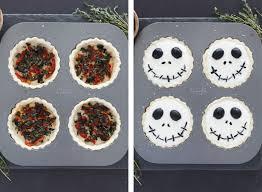 halloween jack skellington ricotta olive tarts snixy kitchen