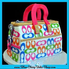 cake purse rainbow coach sculpted purse birthday cake blue sheep bake shop