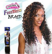 types of freetress braid hair freetress premium synthetic hair braid deep twist bulk 22 curly