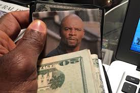 Terry Meme - terry crews keeps picture of himself in wallet to save money