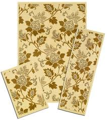 Area Rug And Runner Set Traditional Persian Accent Mat Runner Area Rug 3 Piece Set Floral