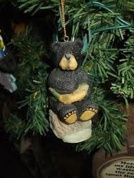 pack of 8 rustic lodge duck bears ornaments 5 5