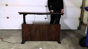 Bestar Desk Bestar Motorized Desk Youtube