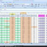 Amortization Table With Extra Payments Mortgage Amortization Excel Spreadsheet Nbd