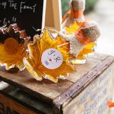 fall wedding favor ideas wedding favors wedding favor ideas