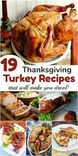19 thanksgiving turkey recipes that will make you drool