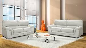 canapé haut de gamme canapé 3 places en cuir pas cher