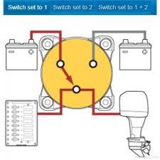blue sea systems e series selector battery switch 9001e blue sea