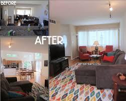 before and after staging carli beardsley studio creative interiors u0026 decor scenic