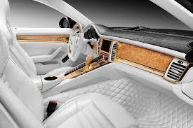porsche stingray gtr with crocodile and gold interior topcar