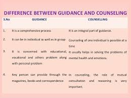 Difference Between Counselling Skills And Techniques Guidance Counselling