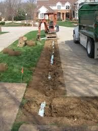 drainage beavercreek landscaping