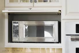 Hide Microwave In Cabinet Hidden Microwave Kitchen Traditional With Raised Panel Cabinets