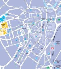 Utc Parking Map Sheffield City Centre Street Map Maps And Travel Advice