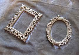 Old Fashioned Picture Frames Spray Paint Transformation U2013 Old Fashion Fridge Frames Express