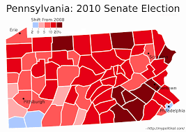2008 Presidential Election Map by Analyzing The 2010 Midterm Elections U2013 The Pennsylvania Senate