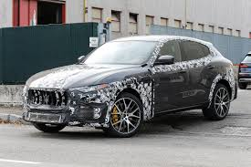 maserati jeep maserati levante prototype spied with v8 engine evo