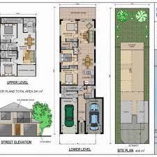 narrow house plans for narrow lots apartments house plans for narrow lots with garage narrow house
