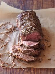 Salt Crusted Beef Tenderloin by Roasted Beef Tenderloin With Mushroom Ragout Williams Sonoma Taste