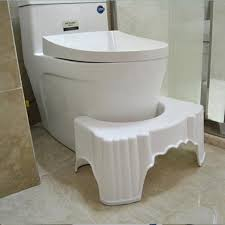 Bathroom Ottoman Simple Toilet Pad Stool Thickened Bathroom Plastic Non Slip