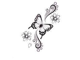 pdf black white butterfly