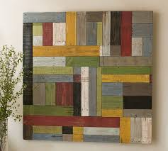 painted pieced woodwork bright pottery barn