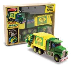 Build A Wooden Toy Truck by Garbage Truck Toys