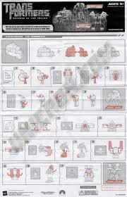 truck instructions transformers 2 revenge of the fallen autobot skids mudflap ice