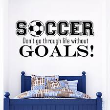 soccer wall decals football wall decals wall stickers for kids