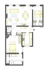golden girls floorplan gorgeous two bedroom rental near eiffel tower and seine river