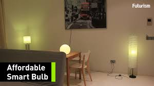 Wireless Light Fixtures by This Affordable Wireless Smart Bulb Is Perfect For Your Home Youtube