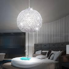 Schlafzimmer Lampe Silber Glamouröse Hängeleuchte Aus Glänzendem Chrom Salamanca Lampen